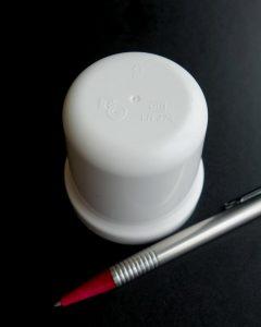 Siphonunterteil, hergestellt auf dem 2-Kavitäten Werkzeug. (Foto: TG Kunststofftechnik)
