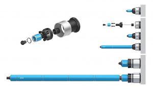 Die internen Nadelverschluss-Düsen sind in einer Vielzahl von Größen für verschiedene Spritzgießanwendungen erhältlich. (Foto: MHS)