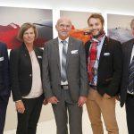 Motan Innovation Award 2016: Sandra Füllsack (2.v.l.), Geschäftsführerin der Motan Holding, im Kreise der Gewinner. (Foto: Hauptmannl)