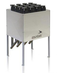 Metroconnect U/C von Motan-Colortronic ist eine hochwertige, manuelle Kupplungsstation für Vakuum-Förderanlagen. (Foto: Motan)