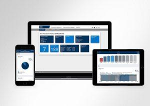 Auf der Fakuma stellt Netstal mit dem e-Service und der cloudbasierten Produktionsüberwachung AnalytiX zwei innovative Produkte aus der Plastics 4.0-Familie vor. (Foto: Netstal)