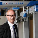 Jean-Michel Renaudeau, CEO der Sepro Group, will seine Kunden mit der Zukunft der Robotik verbinden. (Foto: Sepro)