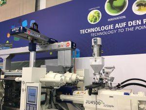 """Haitian und Sepro bieten ab sofort 3- und 5-Achs-Linear-Robots mit integrierter Steuerung in den Spritzgießmaschinen der Marken """"Haitian"""" und """"Zhafir"""" an. (Foto: Haitian)"""