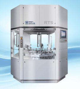 Das schnelltaktende Ringtransfersystem RTS von Teamtechnik für die Baugruppenontage erzielt 120 Takte/min. (Foto: Teamtechnik)