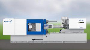 Deckerform und Toyo Europe zeigen diese vollelektrische Toyo Si-350-6, eine Packaging-Maschine. Die hohe Dynamik, geringe Betriebsgeräusche und allem voran der minimale Stromverbrauch garantieren laut Anbieter eine extreme Wirtschaftlichkeit. (Foto: Toyo Europe)