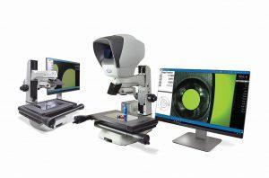 Die integrierten Features der Swift Pro Serie verschaffen einen Vorteil beim berührungslosen optischen manuellen Messen. (Foto: Vision Engineering)