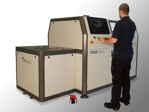 Die Digitaldruckmaschine Thieme 505 D ist für ein maximales Druckformat von 400 x 600 mm ausgelegt. (Foto: Thieme)