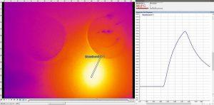 Mit dem neuen Verfahren können sowohl punktuelle als auch bereichsweise Temperaturmessungen vorgenommen werden. (Foto: Hotset)