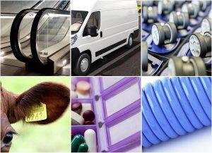 Die Spritzgieß- und Extrusionstypen der Ravathane-TPUs eignen sich für eine Vielzahl von Anwendungen im privaten, öffentlichen und industriellen Bereich. (Fotos: www.istockphoto.com)