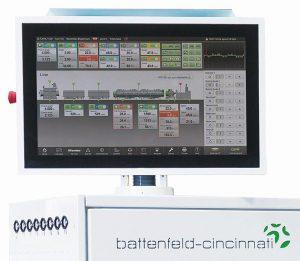 Die neue Steuerung BCtouch UX für Bedienkomfort und Industrie 4.0-Anwendungen. (Foto: Battenfeld-Cincinnati)