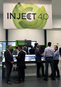Inject 4.0 als Antwort auf die Herausforderungen der Digitalisierung und Vernetzung bildet im neuen interaktiven Technologiezentrum in Hannover einen festen Themenschwerpunkt. (Foto: Engel)