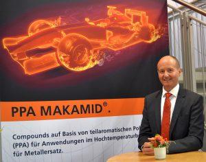 Geschäftsführer Thomas Maurer sieht sein Unternehmen als kompetenter Partner bei der Entwicklung von technischen Compounds bis hin zum fertigen Kunststoffteil. (Foto: K-AKTUELL)