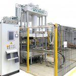Die neue WKP 1700 S zur Fertigung von 3D-Formteilen aus Organo-Sheets. (Foto: Wickert)