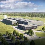 Das neue Ypsomed-Produktionswerk in Schwerin soll 2019 den Betrieb aufnehmen. (Abb.: IE Plast)