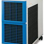 Mit einer Kühlleistung von 9 kW runden die neuen Kühl- und Temperiergeräte der Serie HRS090 das Sortiment nach oben ab. (Foto: SMC)