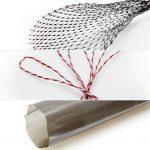 Die mit den Detectopac-Masterbatches hergestellten Produkte wie Beutel, Wurstdärme, Netze und Schlaufen lassen sich mit den üblichen Metalldetektoren leicht aufspüren. (Fotos: Barlog)