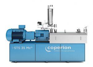 Die neuen Features des Doppelschneckenextruder STS Mc11 verbessern die Handhabung und Reinigung des Systems. (Foto: Coperion)