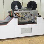 Maschinensystem PrePro 2D für das Tapelegen zu maßgeschneiderten Organoblechen und Laminaten mit In-situ-Konsolidierung. (Foto: Fraunhofer IPT)