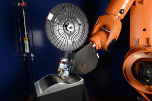 Applikator PrePro 3D zur modularen Integration in bestehende Produktionssysteme. (Foto: Fraunhofer IPT)