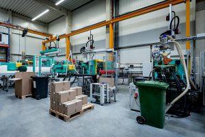 Blick in die Großmaschinenhalle in Halver. (Foto: Meding)