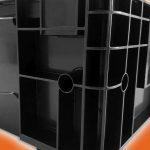 Zu den Hauptanwendungen der elektrisch leitfähigen Compounds gehören Transportboxen für elektronischen Komponenten und Geräte, die empfindlich auf elektrostatische Entladungen reagieren. (Foto: Ultrapolymers)