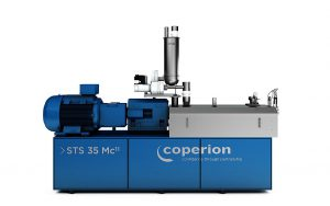 Coperion hat den STS Mc11 Doppelschneckenextruder für Masterbatch-Anwendungen mit verbesserten Merkmalen ausgestattet. (Foto: Coperion)