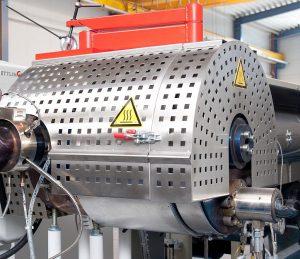 Der ERF 200 Hochleistungsfilter von Ettlinger eignet sich zur Aufbereitung von Kunststoffschmelzen mit bis zu 18 % Verunreinigungen. (Foto: Ettlinger)