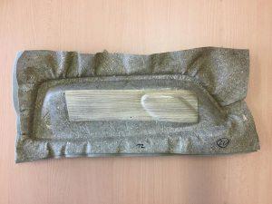 Ergebnis des Forschungsprojekts ist unter anderem ein biobasierter Armlehnen-Demonstrator. (Foto: IMWS)