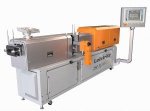 Ein Doppelschneckenextruder ZSE 35 iMaxx erweitert im Herbst die Produktionstechnik des Masterbatch-Herstellers Granula. (Foto: Leistritz)