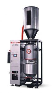 Mit einem Durchsatz bis zu 275 kg/h ergänzt der neue Vakuumtrockner die VBD-Reihe. (Foto: Maguire)