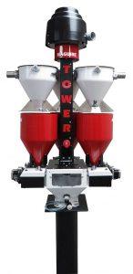 Der Micro Tower MMT ist für Materialdurchsätze bis 45 kg/h konzipiert. (Foto: Maguire)