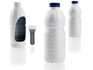 Prelactia ist eine nachhaltige und kosteneffiziente Barriereverpackung für flüssige Molkereiprodukte. (Foto: Netstal)