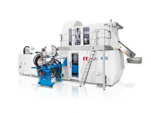 Die PET-Line 2C ist ein leistungsstarkes Spritzgießsystem für Zweikomponenten-Preforms. (Foto: Netstal)