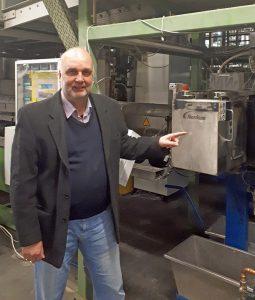 Cyklop-Werksleiter Bernd Causemann. (Foto: Nordson)