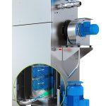 Der neu konstruierte Granulattrockner ist für den Einsatz mit glasfasergefüllten und anderen abrasiven Materialien gedacht. (Foto: Nordson)