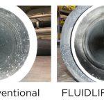 Das Förderverfahren Fluidlift ecoblue hilft, die Entstehung von Abrieb und dessen Ablagerungen in der Anlage zu vermieden und dadurch die Produktqualität deutlich zu steigern. (Fotos: Coperion)