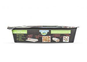 Die Kunststoffwanne für den neuen Mozzarella-Wrap soll im Verkaufsregal auffallen. (Foto: Greiner Packaging)