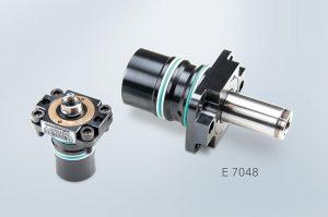 Der neue Einbauzylinder mit Flansch ermöglicht kleine Bauräume. (Foto: Meusburger)