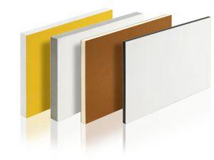 Coextrudierte PVC Platten – produziert auf einer Krauss-Maffei-Berstorff-Plattenlinie. (Foto: Krauss Maffei Berstorff)