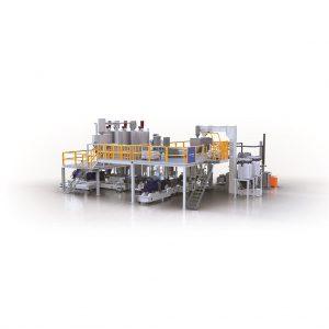 Edelweiss-Compounding-Anlage für energieeffizientes Kunststoffrecycling und hohe Produktqualität. (Foto: Krauss Maffei Berstorff)