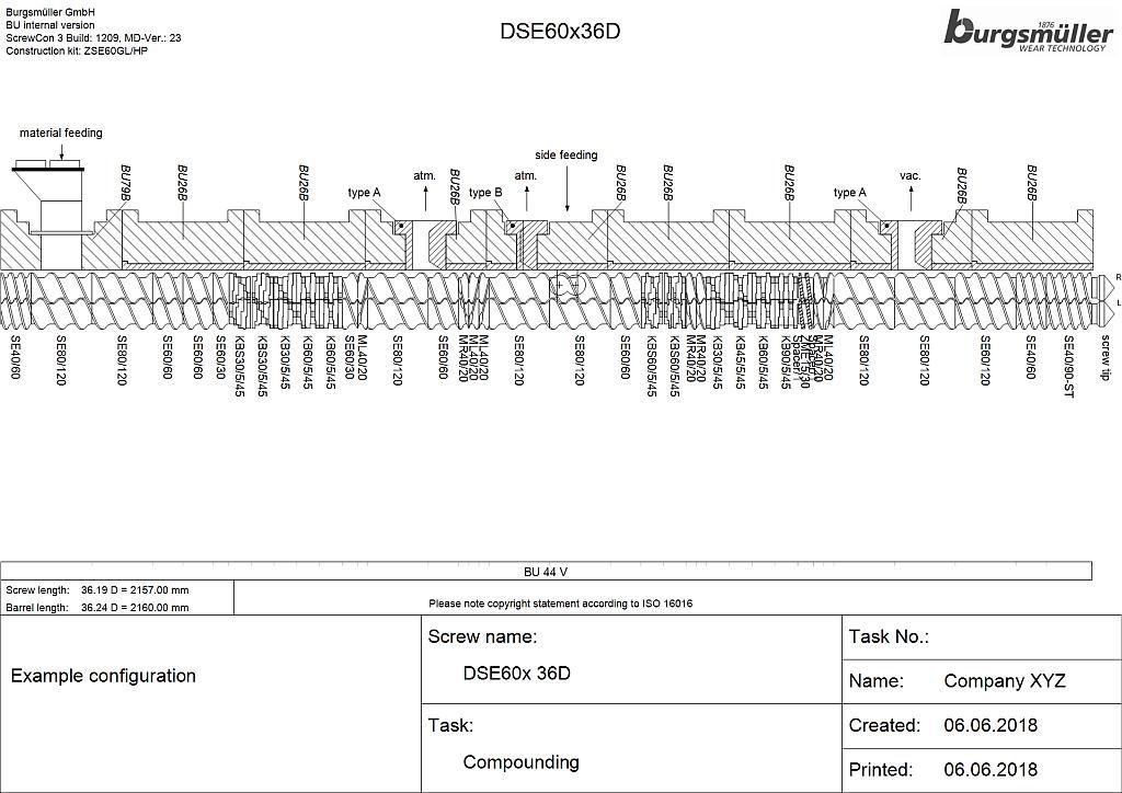 Protokoll der Schnecken- und Gehäusekonfiguration – mit immer gleicher Systematik für eine gute Vergleichbarkeit. (Abb.: Burgsmüller)