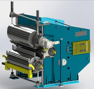 Auf der Rotocure D320 können Elastomerprodukte mit Nutzbreiten bis zu 3,20 m hergestellt werden. (Foto: Ermafa)