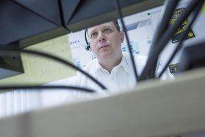 Ingo Hackler, Leiter der Abteilung 24/7 HelpDesk, Remote Diagnostic Service und Serviceverträge. (Foto: KHS)