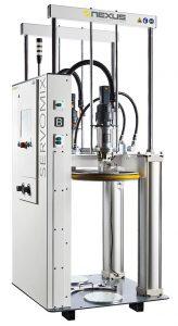 Das Dosiersystem Servomix sorgt für einen luftfreien Materialfluss. (Foto: Nexus)