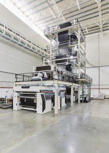 Die Maschinen wurden in einer neu gebauten Halle ohne Tragesäulen aufgebaut. (Foto: W&H)