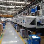 Über 100 Spritzgießmaschinen von Sumitomo (SHI) Demag stehen im Maschinenpark von Rosti China. (Foto: Sumitomo (SHI) Demag)