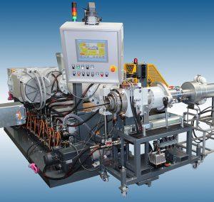 Der Standardextruder EEK 125.16 S ist ein Beispiel für die universell einsetzbaren Maschinen. (Foto: Rubicon)