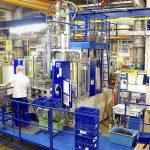 Wittmann-Battenfeld–Rundtischmaschinen werden in unterschiedlichen Schließkraftgrößen und Ausführungsvarianten eingesetzt, hier eine VM-R 80. (Foto: Reinhard Bauer)