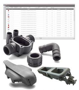 Partfinder analysiert 3D-CAD-Daten auf ihr 3D-Druck-Potenzial. (Foto: AI)