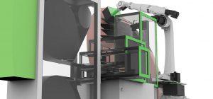 Entwickelt wird die automatisierte Verarbeitung eines speziellen Multi-Material-Mixes innerhalb einer einzigen Anlage. (Abb.: Cevotec)